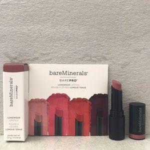 💄 5/$15 bareMinerals Longwear Lipstick in Petal